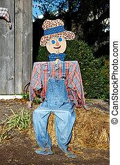 Scarecrow Sitting