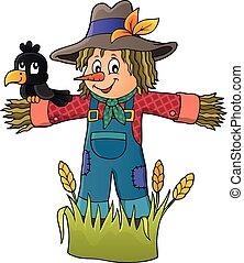 Scarecrow theme image