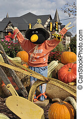 Scarecrows - Pigeon Forge, Tennessee. October Fall Festival...
