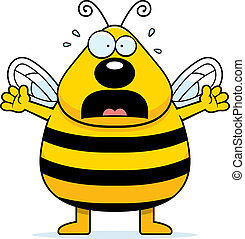 Scared Bee