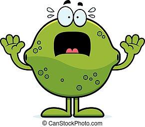 Scared Cartoon Lime