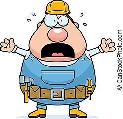 Scared Handyman