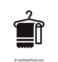scarf glyph flat icon