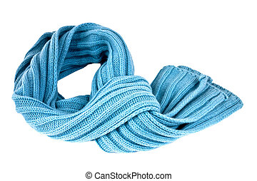 Scarf - Soft, stylish and colorful winter scarf isolated ...