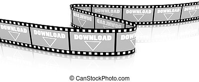 scaricare, parola, film, zigzag