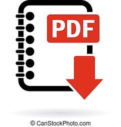 scaricare, pdf, file