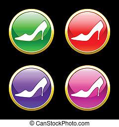 scarpe, annuncio pubblicitario