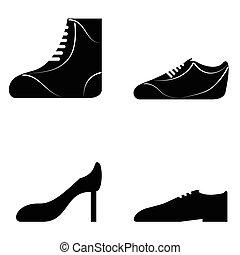 scarpe, collezione