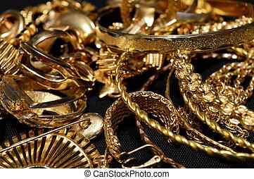scarto, oro, raffinamento