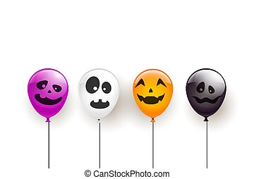 Scary Balloons