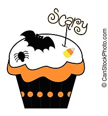 Scary Cupcake