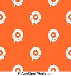 Scary eyeball pattern seamless - Scary eyeball pattern...