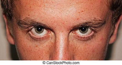 Scary Eyes closeup