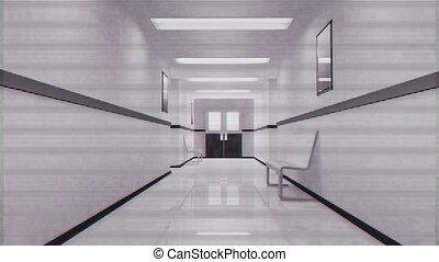 Scary Hospital Corridor 10 security