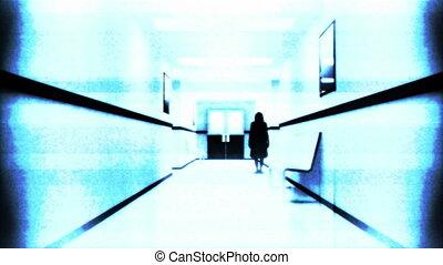 Scary Hospital Corridor 11 yurei