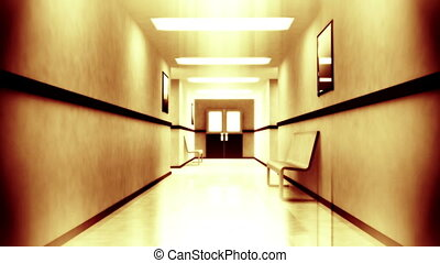 Scary Hospital Corridor 2