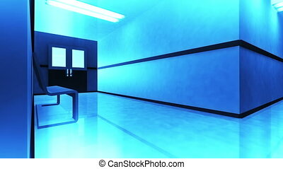 Scary Hospital Corridor v3 4