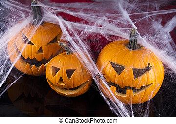 Scary Jack, halloween pumpkin