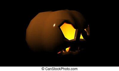 Scary Jack O' Lantern