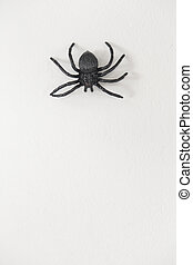 Scary plastic spider for halloween