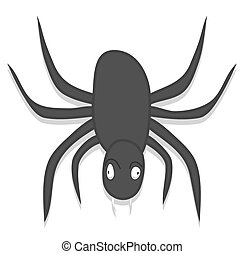 Scary Spider Character