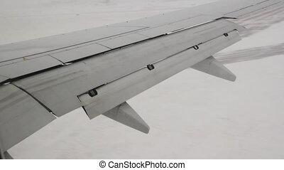 Scary winter landing.