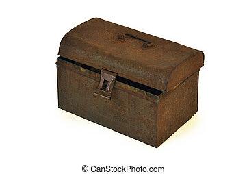 scatola, arrugginito