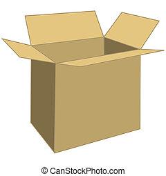 scatola, asse