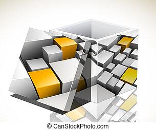 scatola, colorito