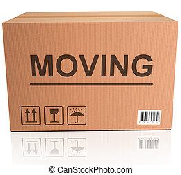 scatola commovente