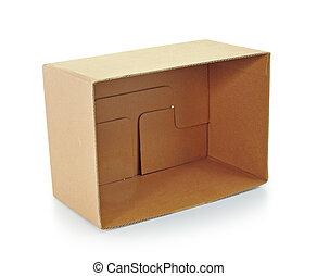 scatola, corrugato