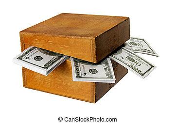 scatola legno, note