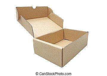 scatola, marrone, spedizione marittima