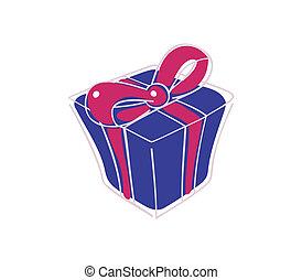 scatola, presente