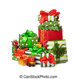scatola, regali natale