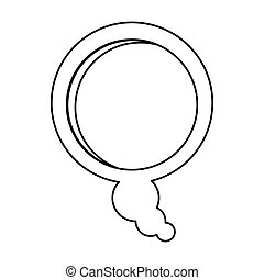 scatola, silhouette, disegno, sollievo, dialogo, bolla