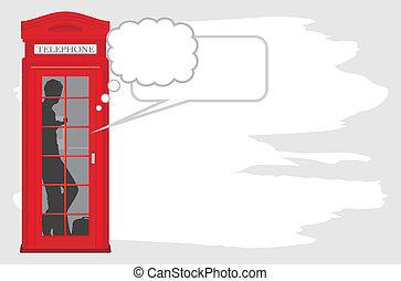 scatola telefono
