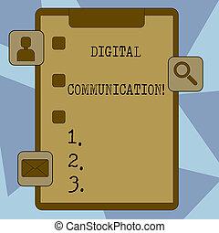 scatola, valutazione, forma, icone, foto, esposizione, scambio, apps, updates, segno, reminder., 3, appunti, digitale, testo, concettuale, zecca, dati, trasmette, communication.