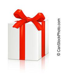 scatola, vettore, regalo