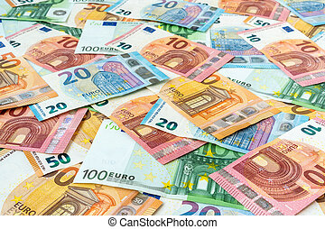Scattered euro
