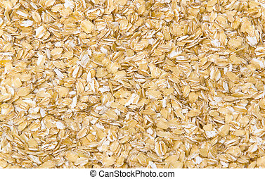 rolled oats - scattered rolled oats