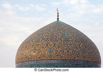 sceicco, lotfollah., esfahan., iran.