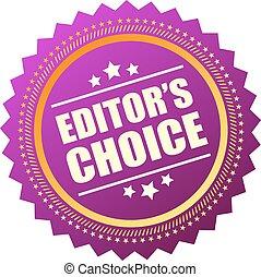 scelta, editors, icona