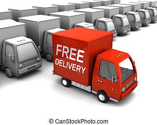 scelta, libero, consegna