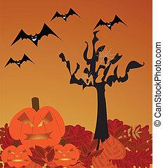 scena halloween