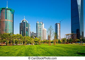 scena miasta