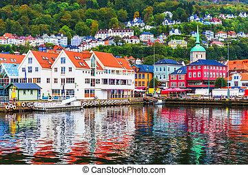 scenario, bergen, norvegia