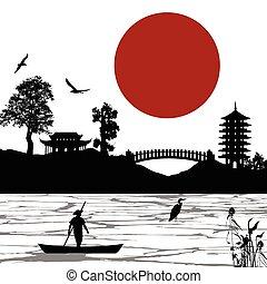scenario, manifesto, giapponese