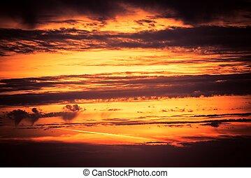 scenario, tramonto