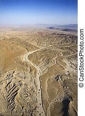scene., 사막